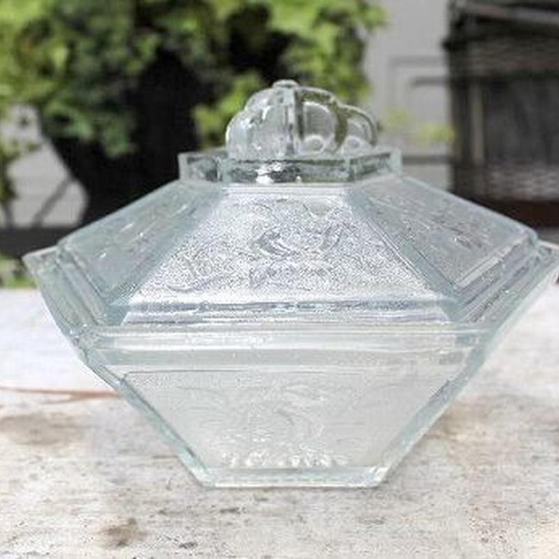 型ガラス 菓子器