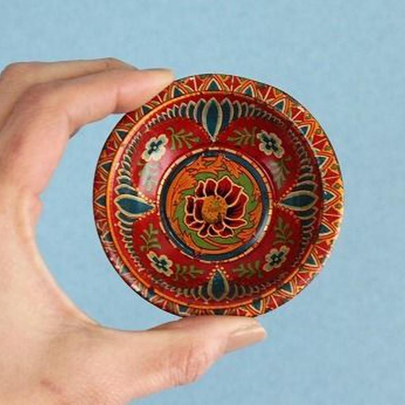 品番 z-0575 ブリキ小皿