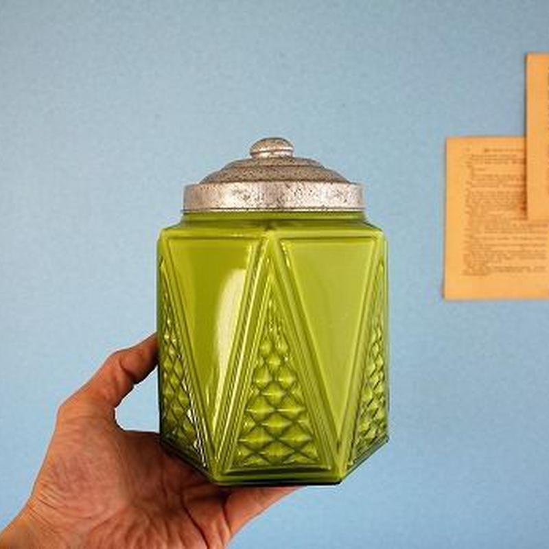 品番 g-0653 飴屋瓶 Green