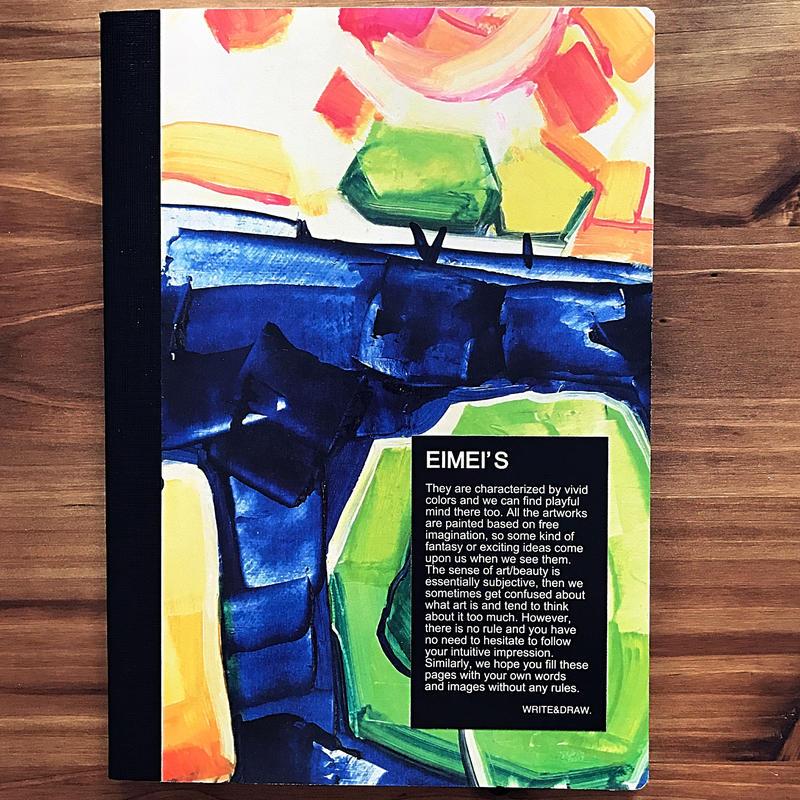 "WRITE&DRAW.×Eimei's Art ORIGINAL NOTEBOOK ""Dimanche"""