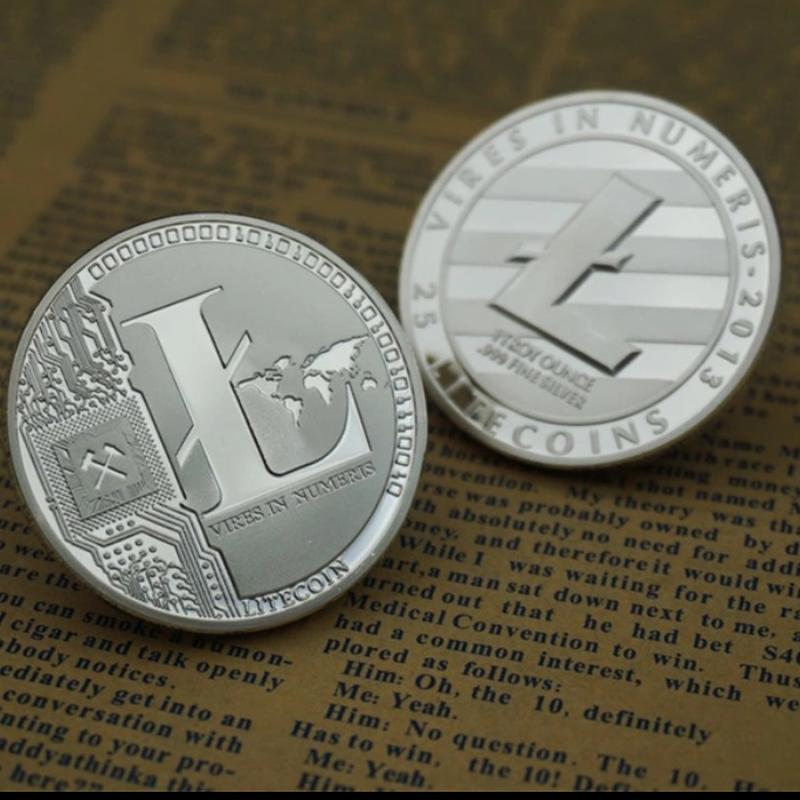 ライトコイン シルバーコイン 2013年