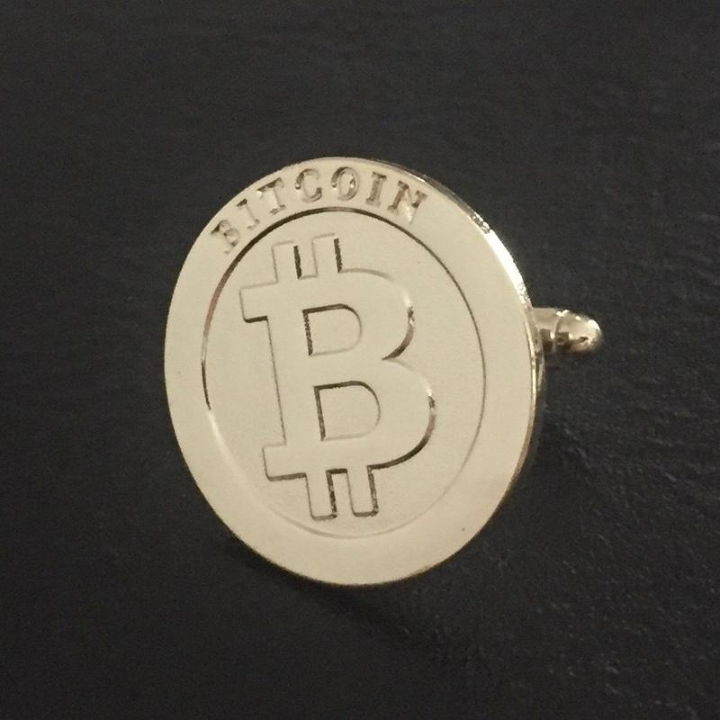 ビットコイン カフス  2個セット