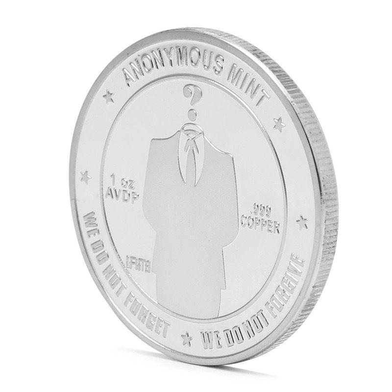 ビットコイン シルバーコイン アノニマス スーツ