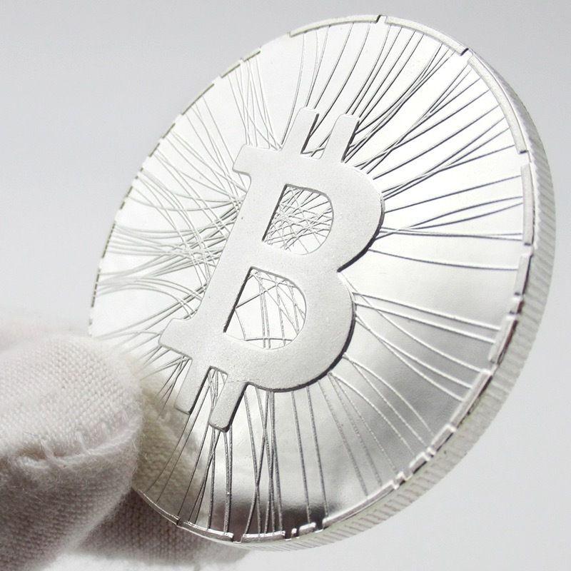 【在庫ラスト1枚】ビットコイン シルバーコイン マイニング