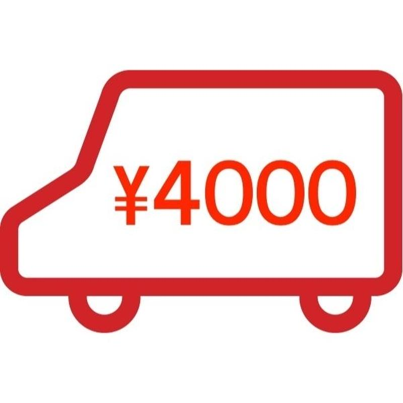 ★POSTAGE [ EMS 4,000yen / to South America, Africa ]