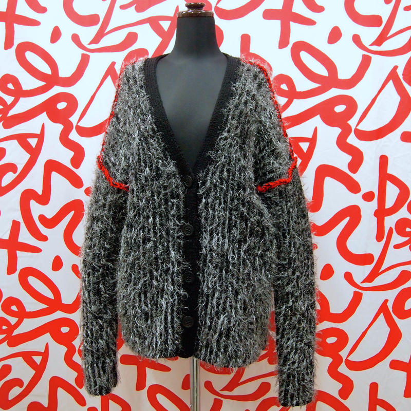 Stripe Fur C/D < BLK >