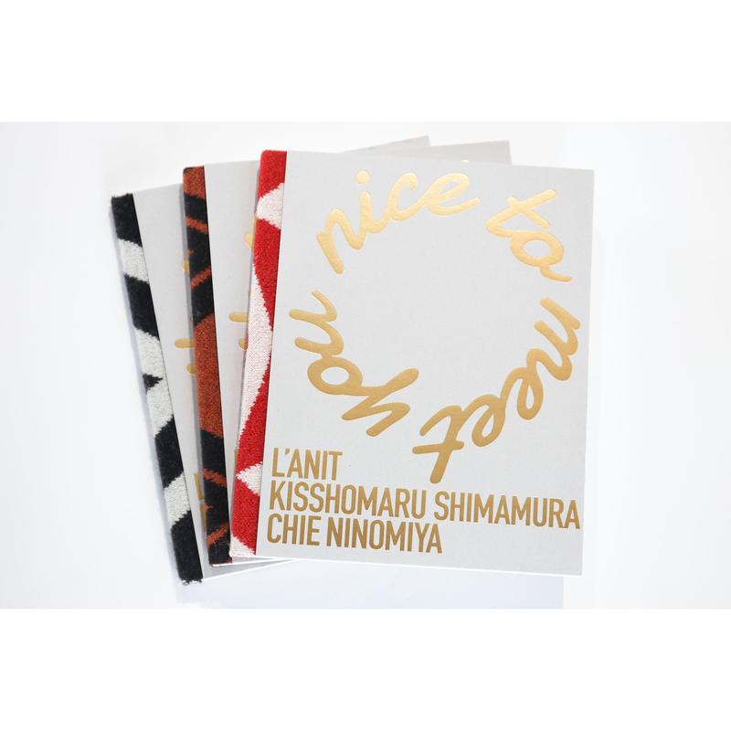 PHOTOBOOK [ nice to meet you ] by L'ANIT × KISSHOMARU SHIMAMURA × CHIE NINOMIYA