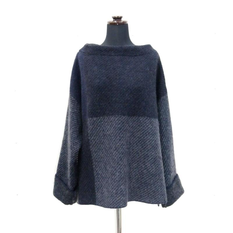 Combination knit <Navy> _ Lades_F size