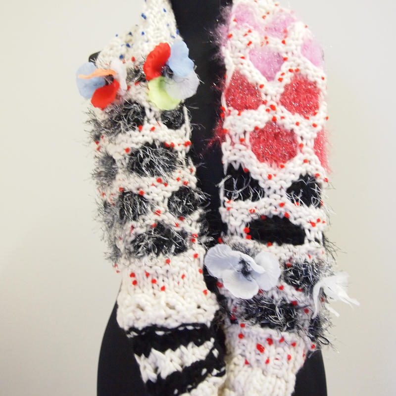 Flower long snood