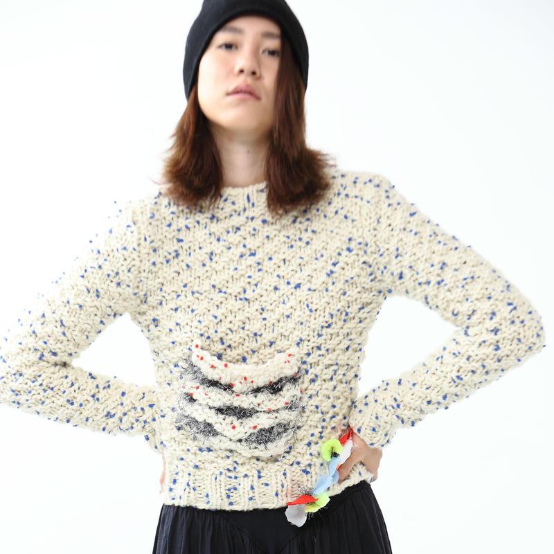 Pon pon knit