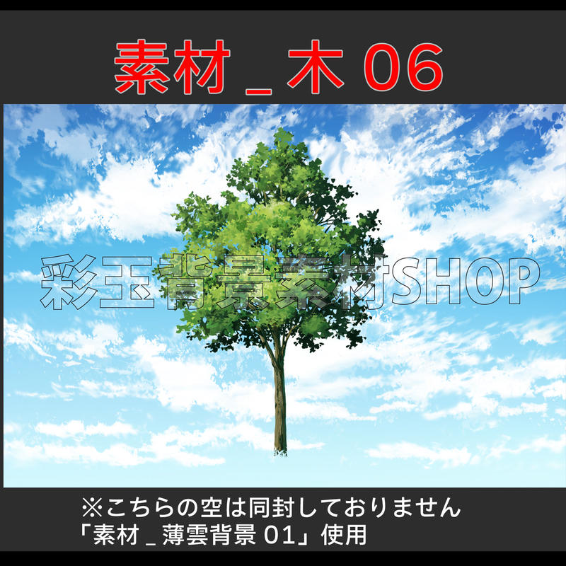 素材_木06