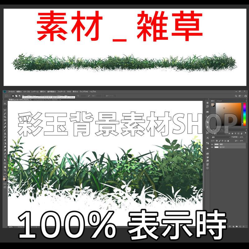 素材_雑草