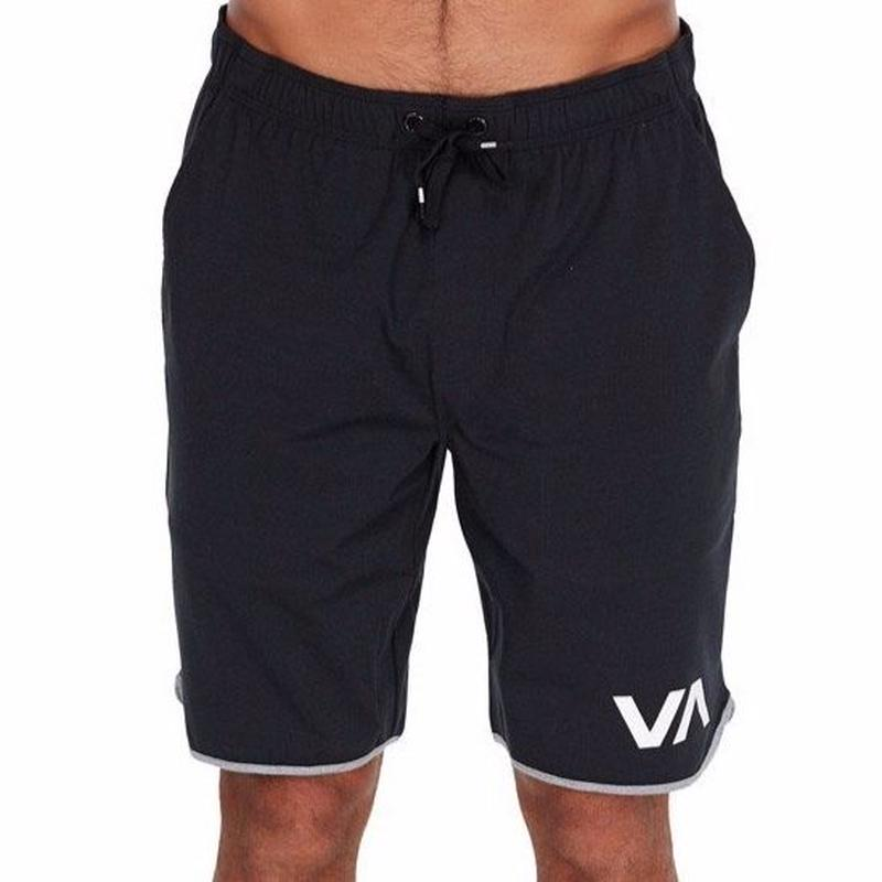 RVCA VA SPT SHORT BLACK