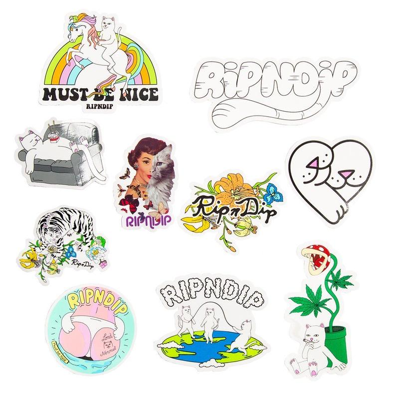 RIPNDIP Spring 2019 Sticker Pack