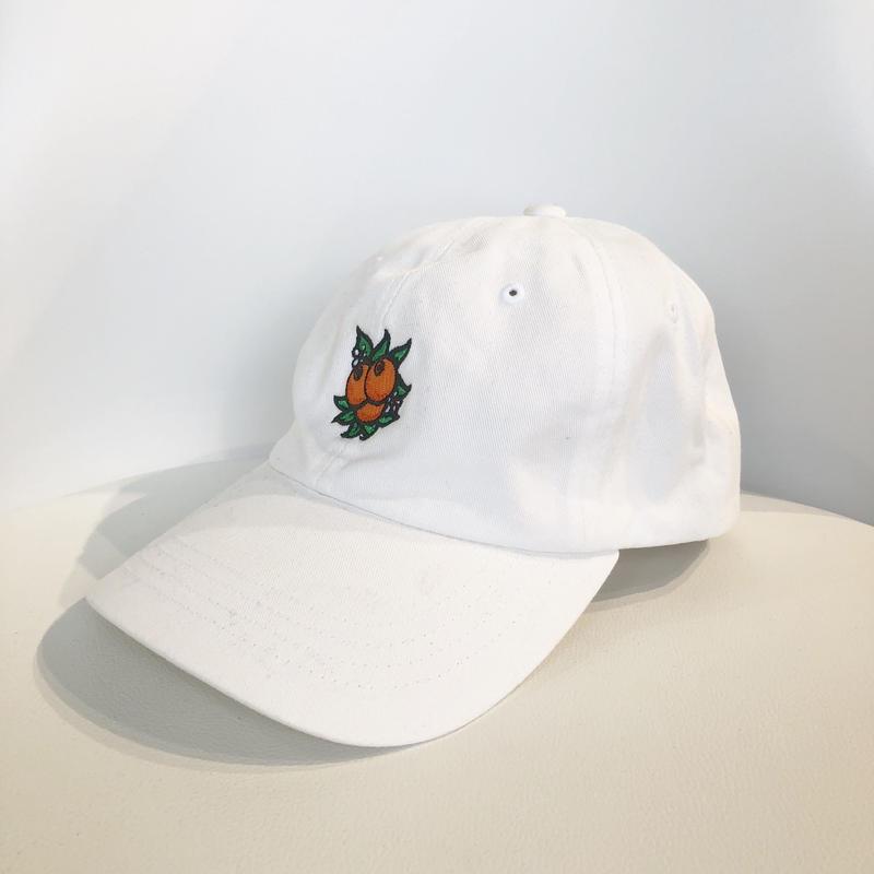 HUF JUICE CURVE BRIM CAP WHITE