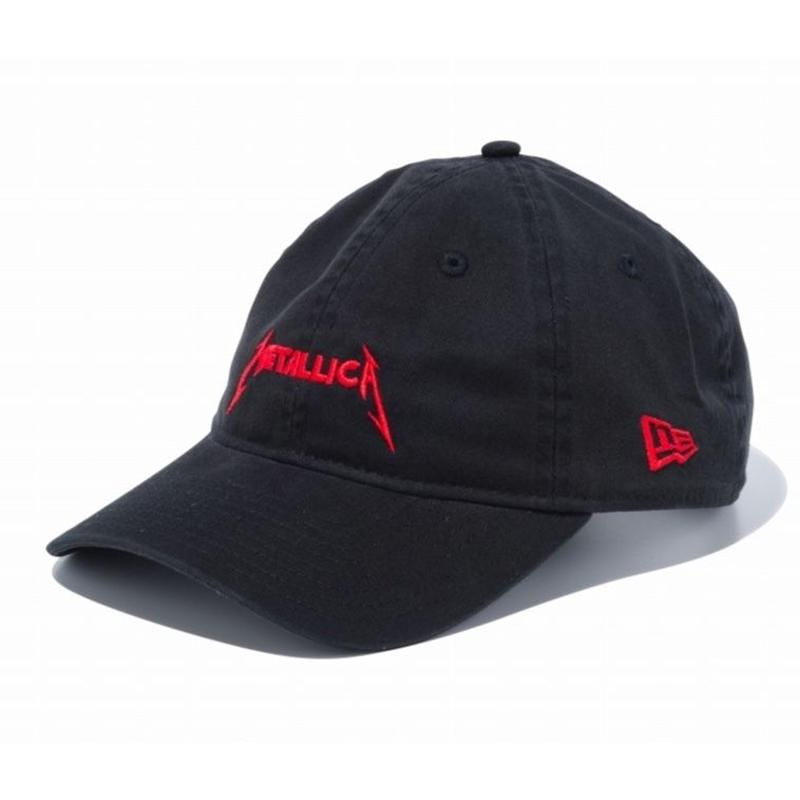 NEW ERA  PROBITY METALLICA LOGO CAP BLACK