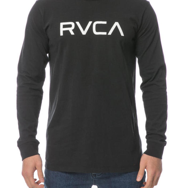 RVCA BIG RVCA L/S TEE BLACK
