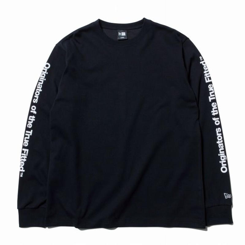 NEWERA L/S PT OTTF BLACK/WHITE