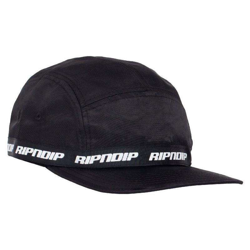 RIPNDIP Taped Nylon Camper BLACK