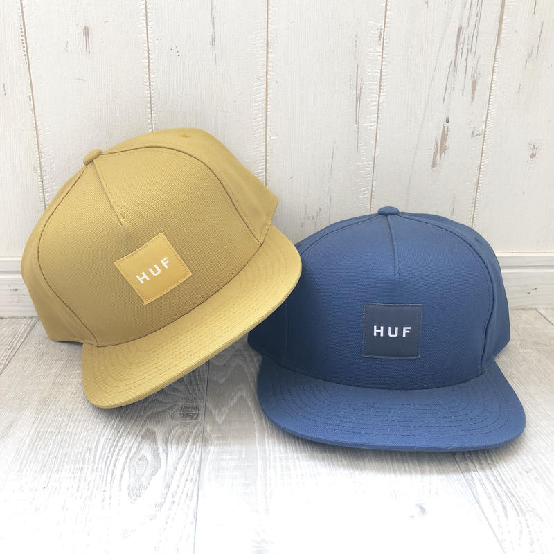 HUF  DUCK CANVAS BOX LOGO SNAPBACK