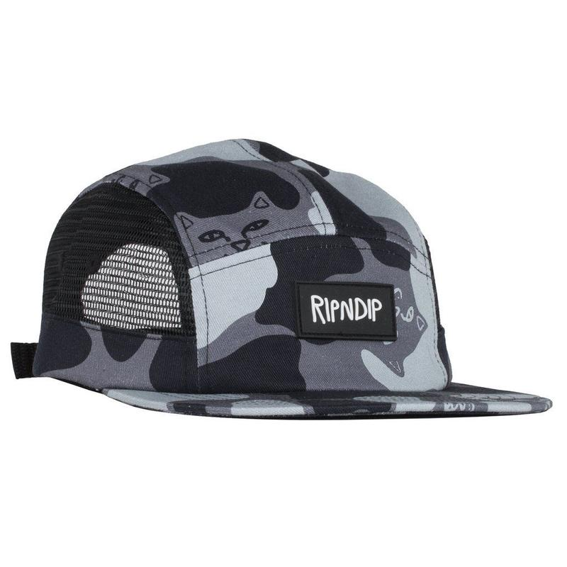 RIPNDIP Nerm Camo Side Mesh 5 Panel Blackout Camo