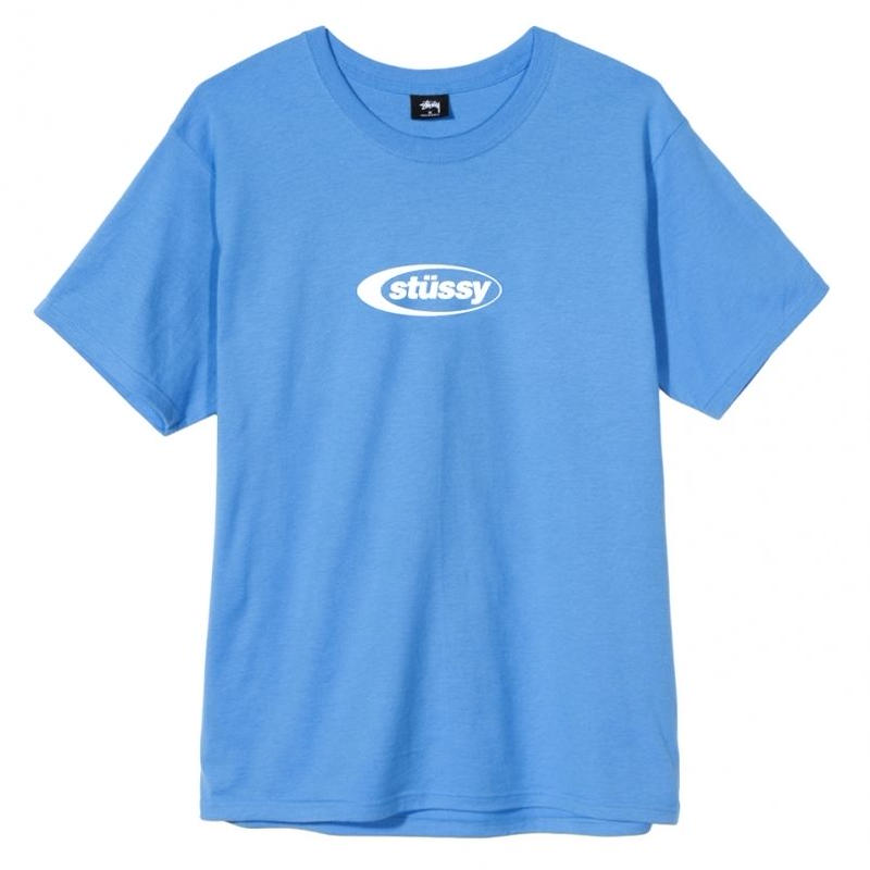 STUSSY ECLIPSE TEE BLUE