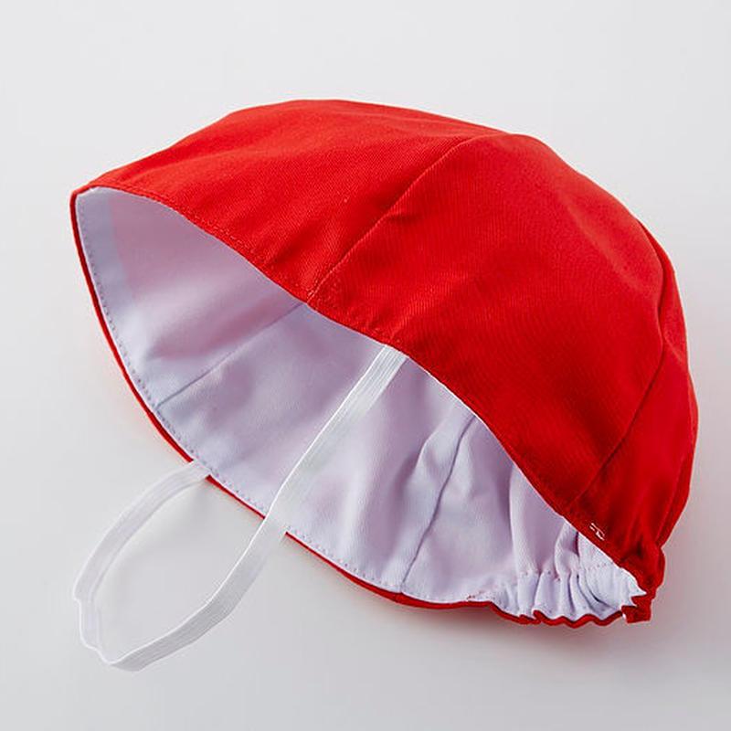小学校紅白帽(ツバ無し)