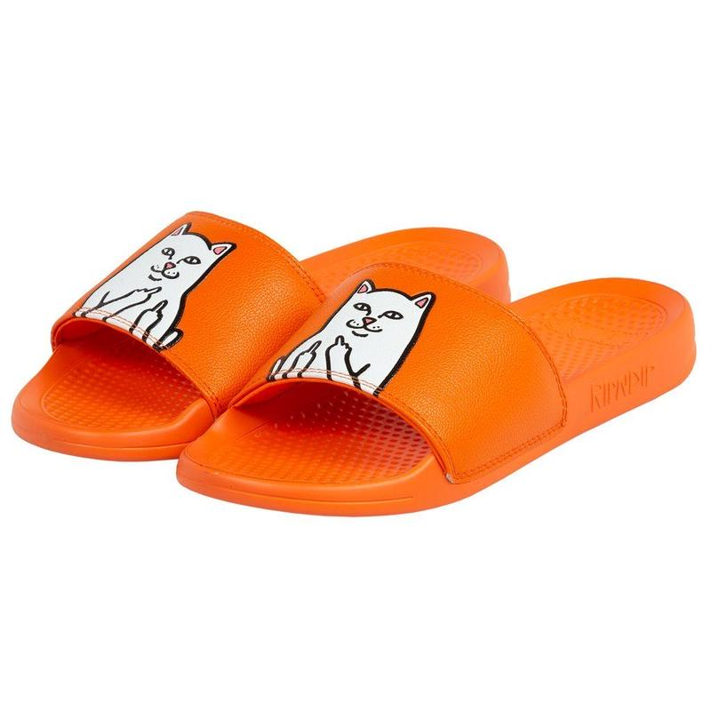 RIPNDIP LORD NERMAL SLIDES Safety Orange