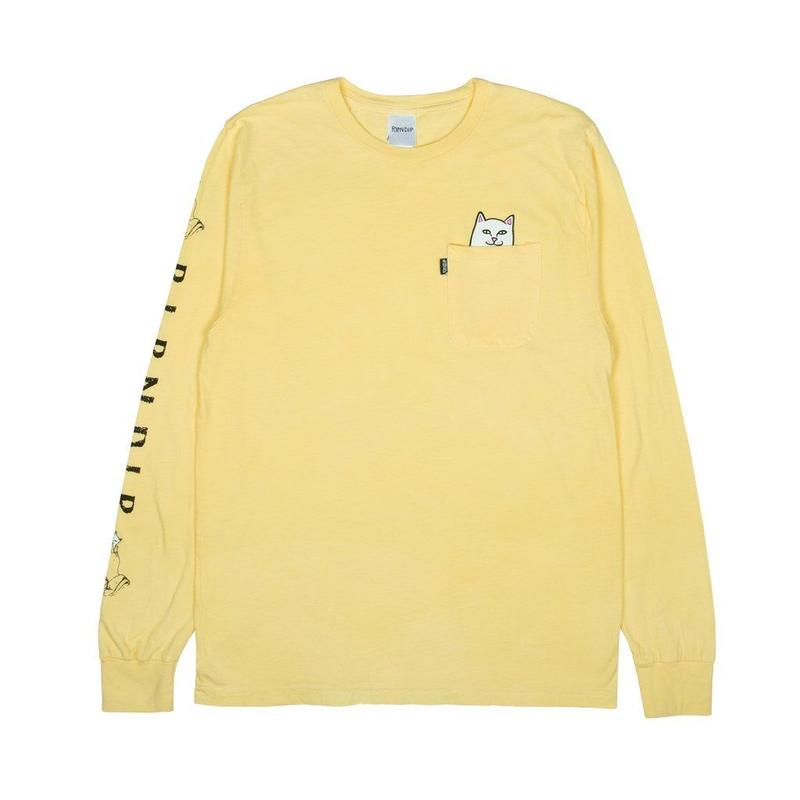 RIPNDIP Lord Nermal Pocket L/S Banana