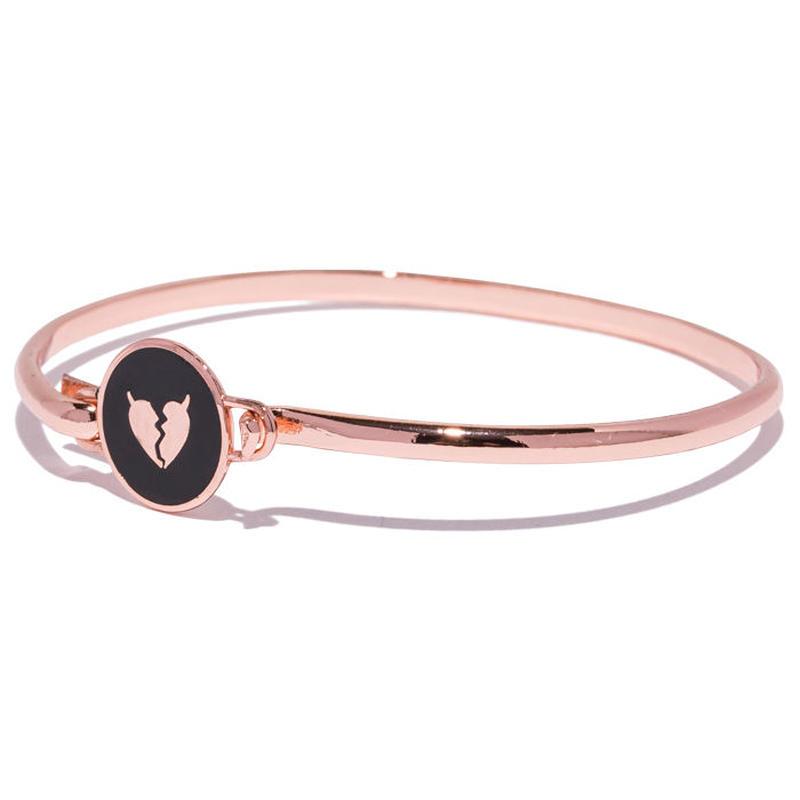 Deviluse Heartaches Bracelet PINK GOLD