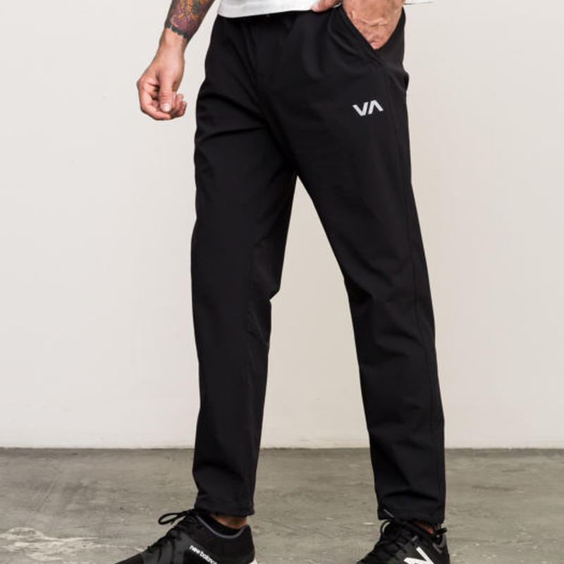 RVCA SPORT VA TECH PANT BLACK