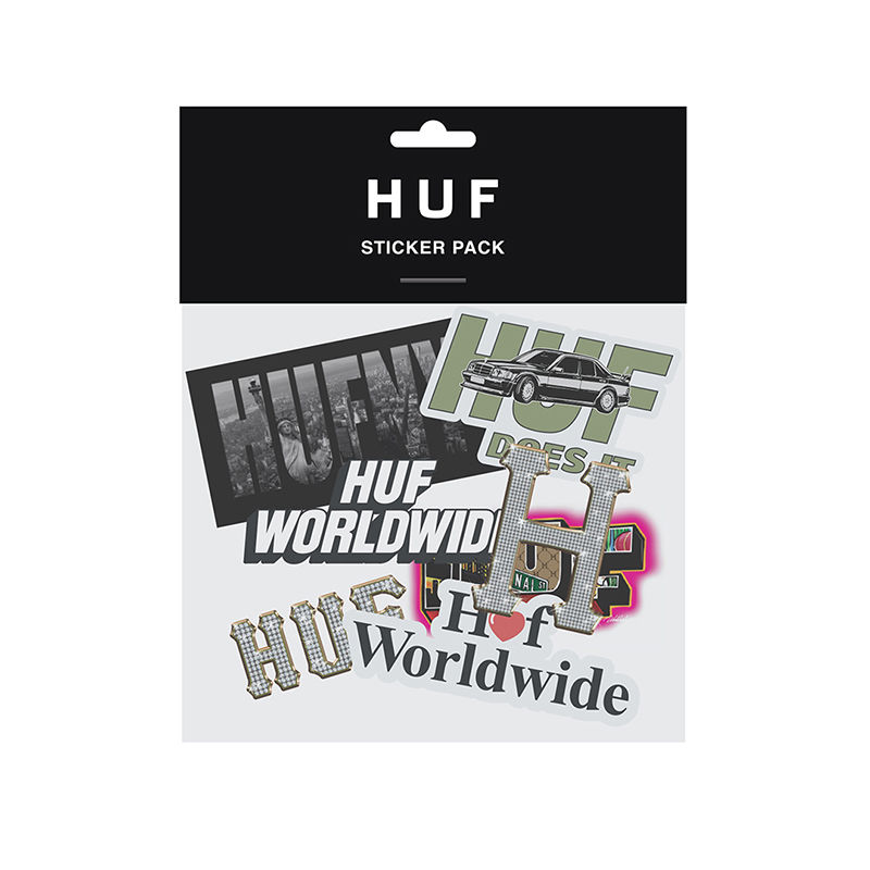 HUF SP19 STICKER PACK MULTI