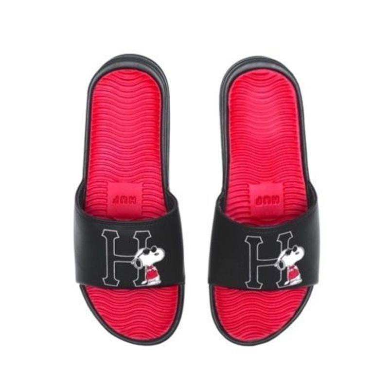 HUF PEANUTS JOE COOL SLIDE BLACK