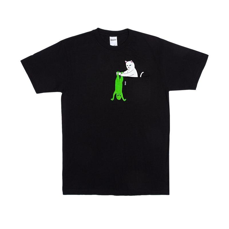 RIPNDIP Break Yo Self Pocket Tee BLACK