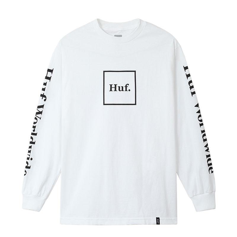 HUF DOMESTIC BOX LS TEE WHITE