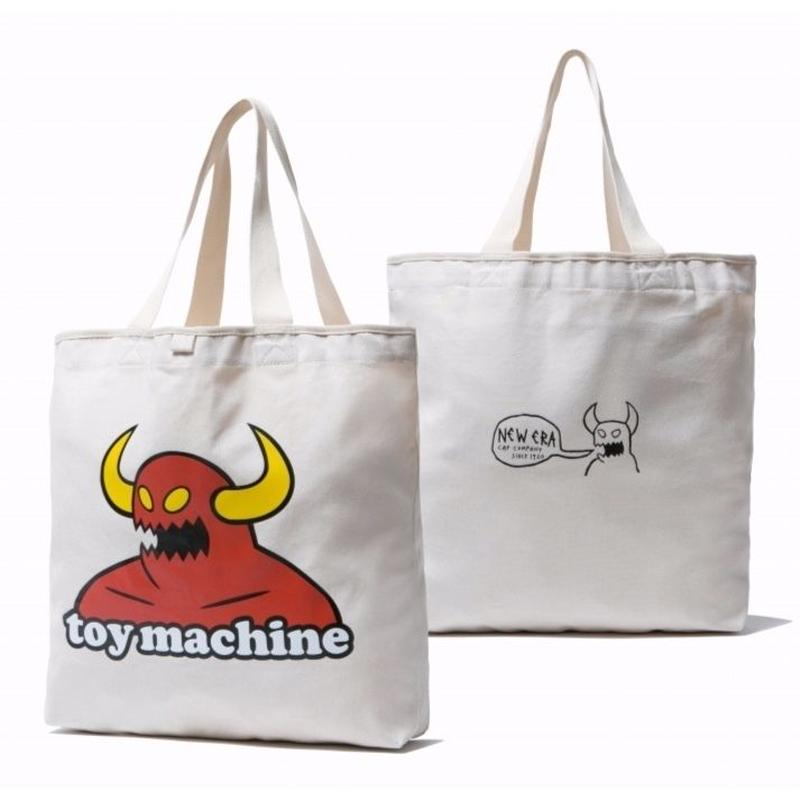 NEW ERA CANVAS TOTE BAG TOY MACHINE