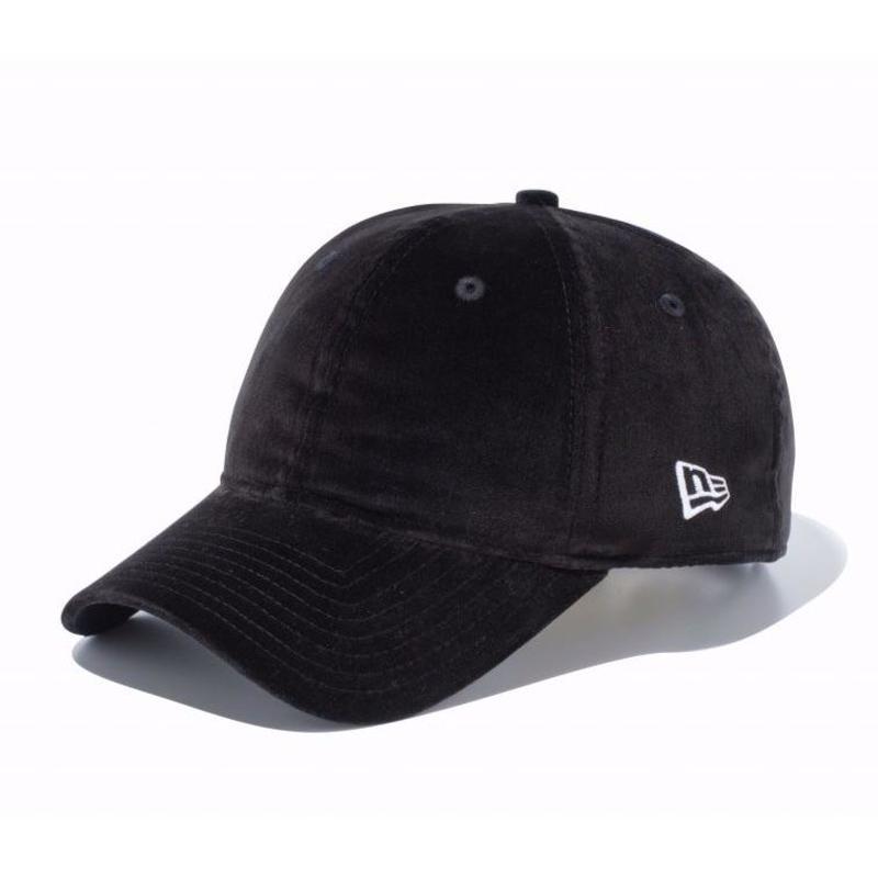 NEWERA VELVETEEN CAP BLACK