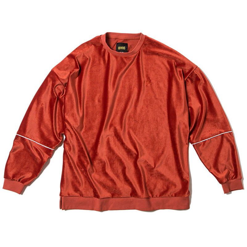 Deviluse Velvet Crewneck ORANGE