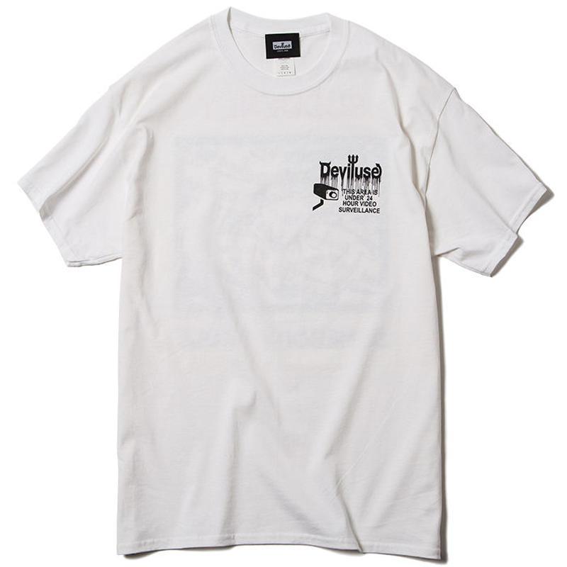 Deviluse CCTV T-shirts WHITE