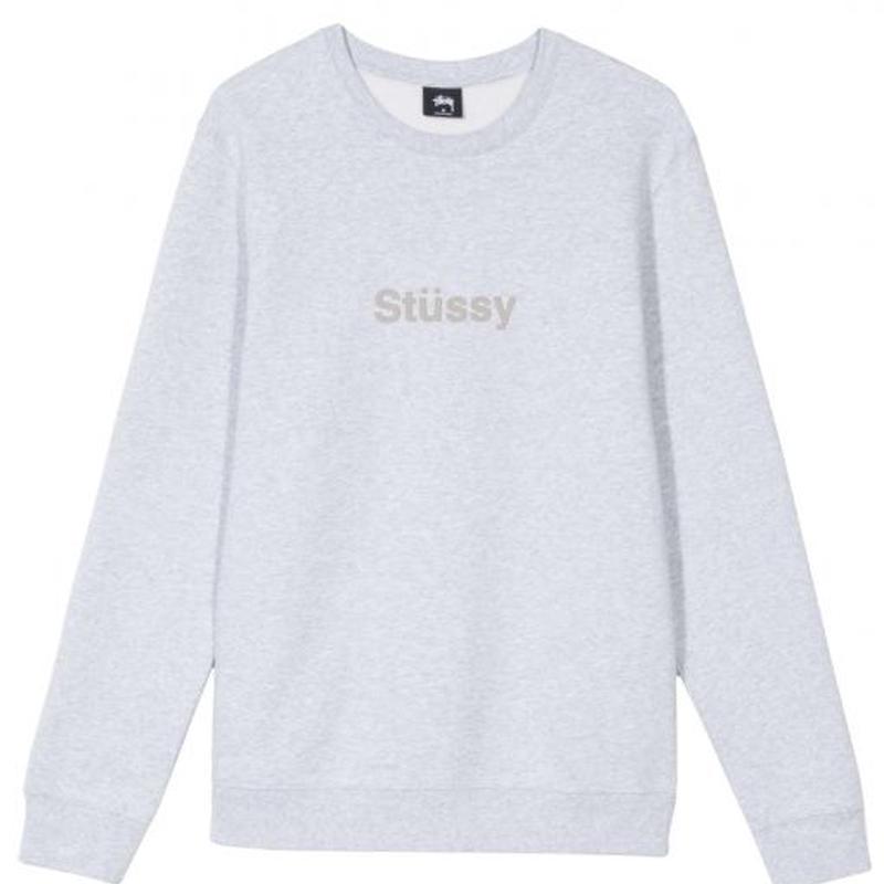 STUSSY Stüssy Weld App Crew Grey Hether