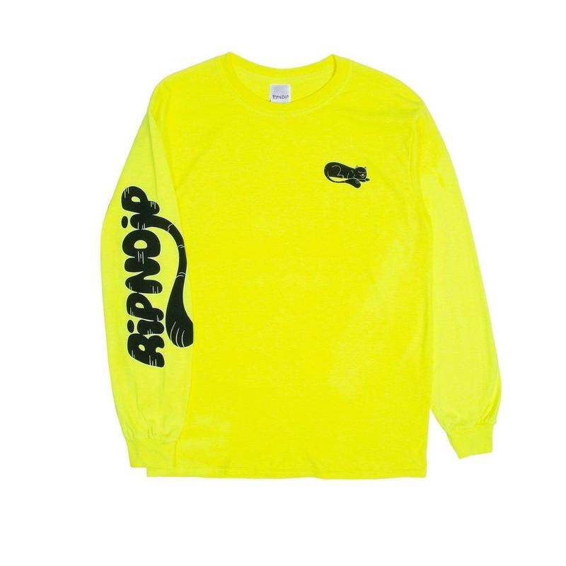 RIPNDIP RIPNTAIL L/S SAFETY GREEN