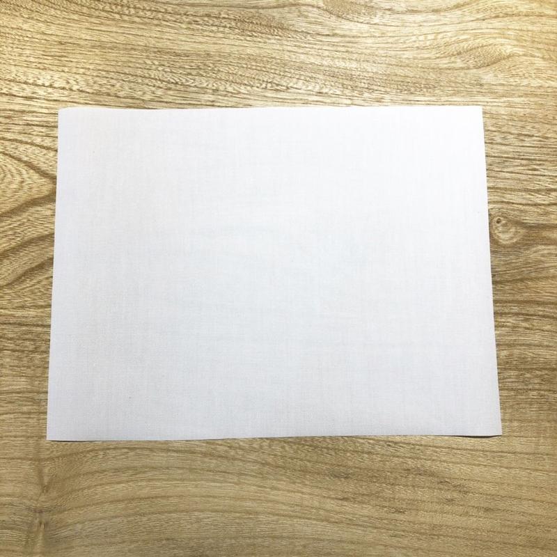 体操着用ゼッケン2枚セット(手縫い用)
