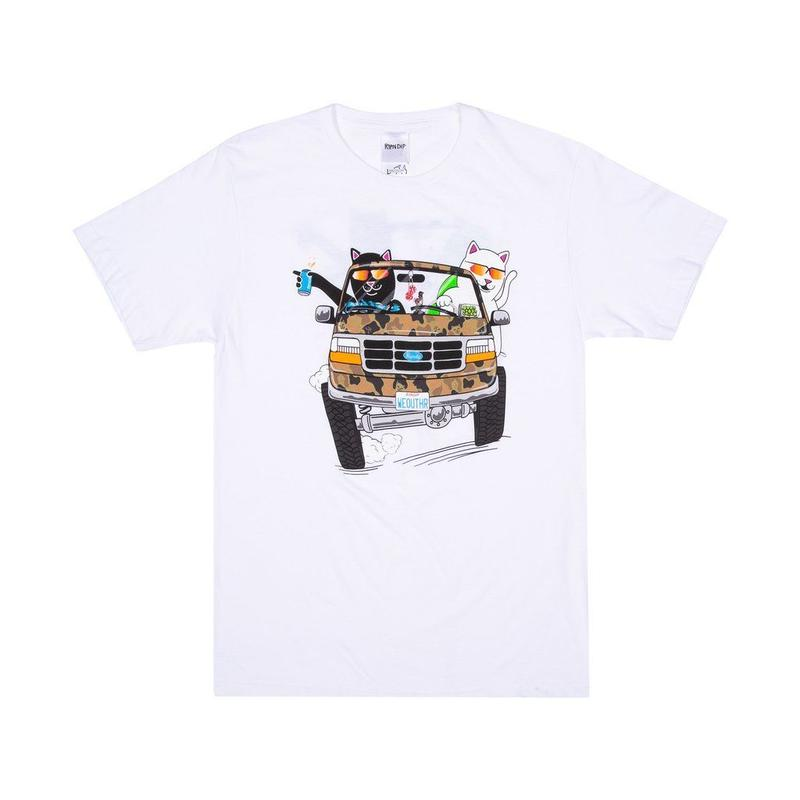 RIPNDIP The Whole Gang Tee WHITE