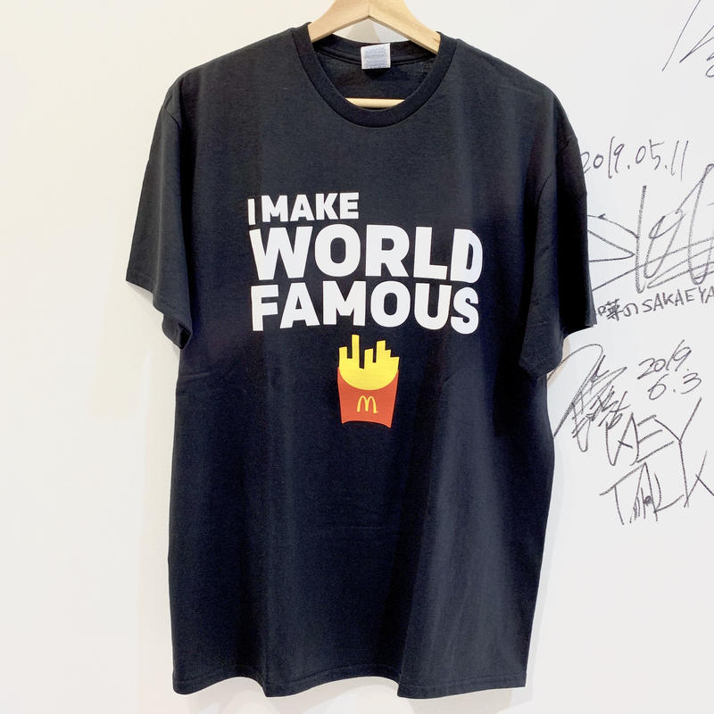"McDonald's / ""WORLD FAMOUS FRIES"" T-shirts"
