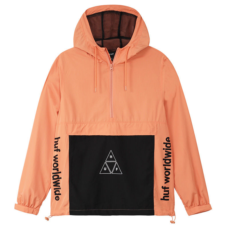 HUF PEAK 3.0 ANORAK JACKET SUNSET