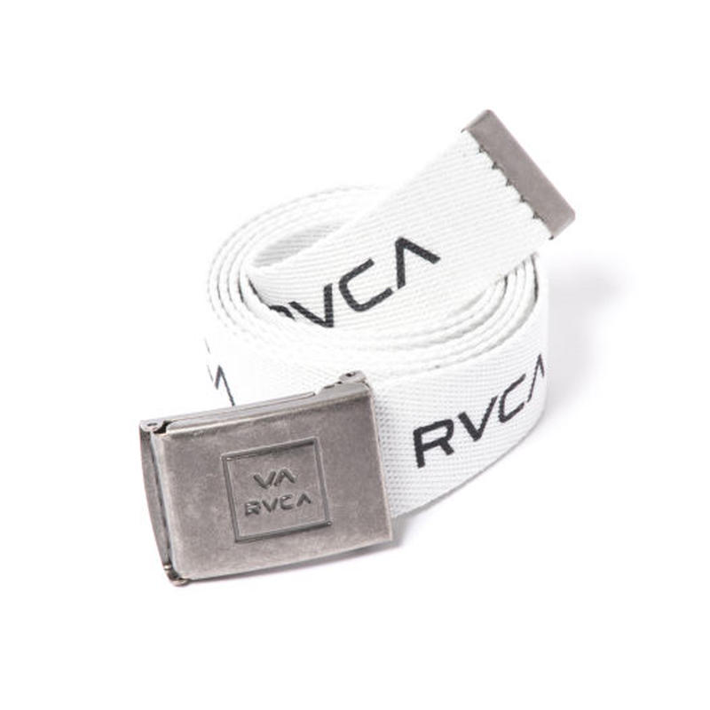 RVCA RVCA WEB BELT WHITE