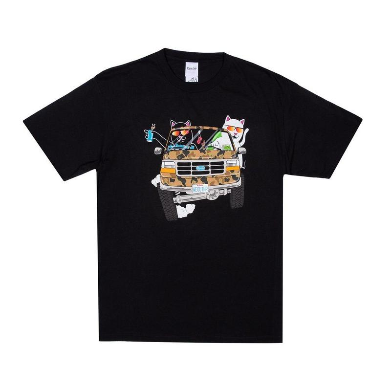 RIPNDIP The Whole Gang Tee BLACK