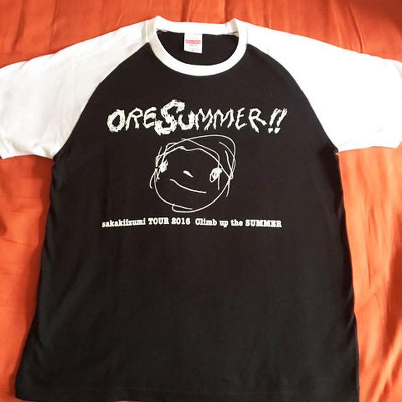 ORE SUMMER Tシャツ(ブラック)