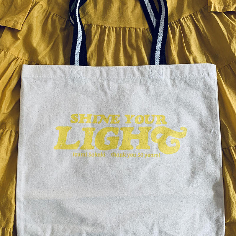 SHINE YOUR LIGHT Tote