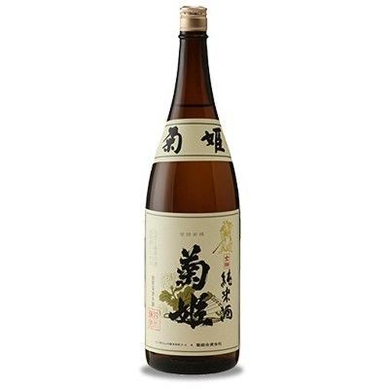 菊姫 純米酒 金劔(720ml)